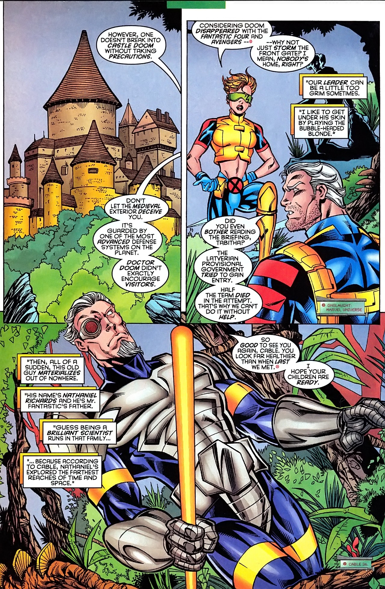 Read online X-Force (1991) comic -  Issue #63 - 12