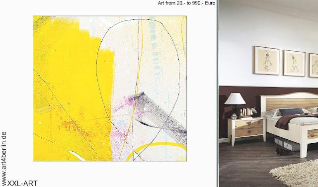 Büro und Kunstbilder.  Moderne Kunst -70 % Sale!