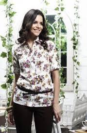 Trend Baju Kemeja Wanita Motif Bunga Terbaru
