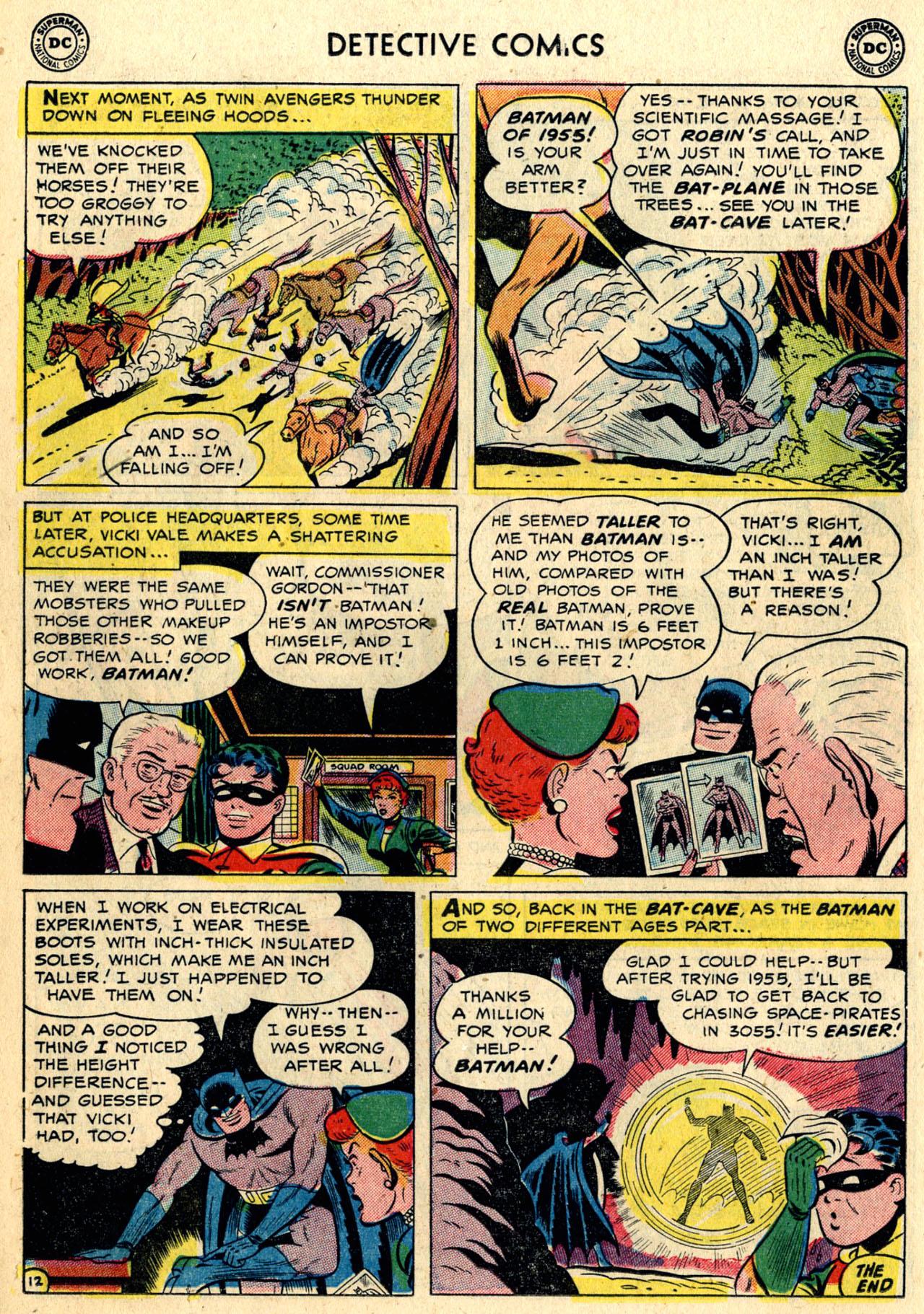 Read online Detective Comics (1937) comic -  Issue #216 - 14