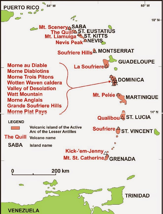 The Physical Geography of Grenada