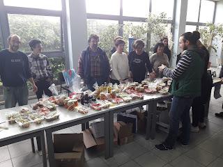 Ευχαριστίες προς την Εταιρία για την πρόσκληση διοργάνωσης Πασχαλινού Bazaar από το σύλλογο.