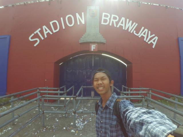 Stadion Brawijaya kebanggan warge Kediri