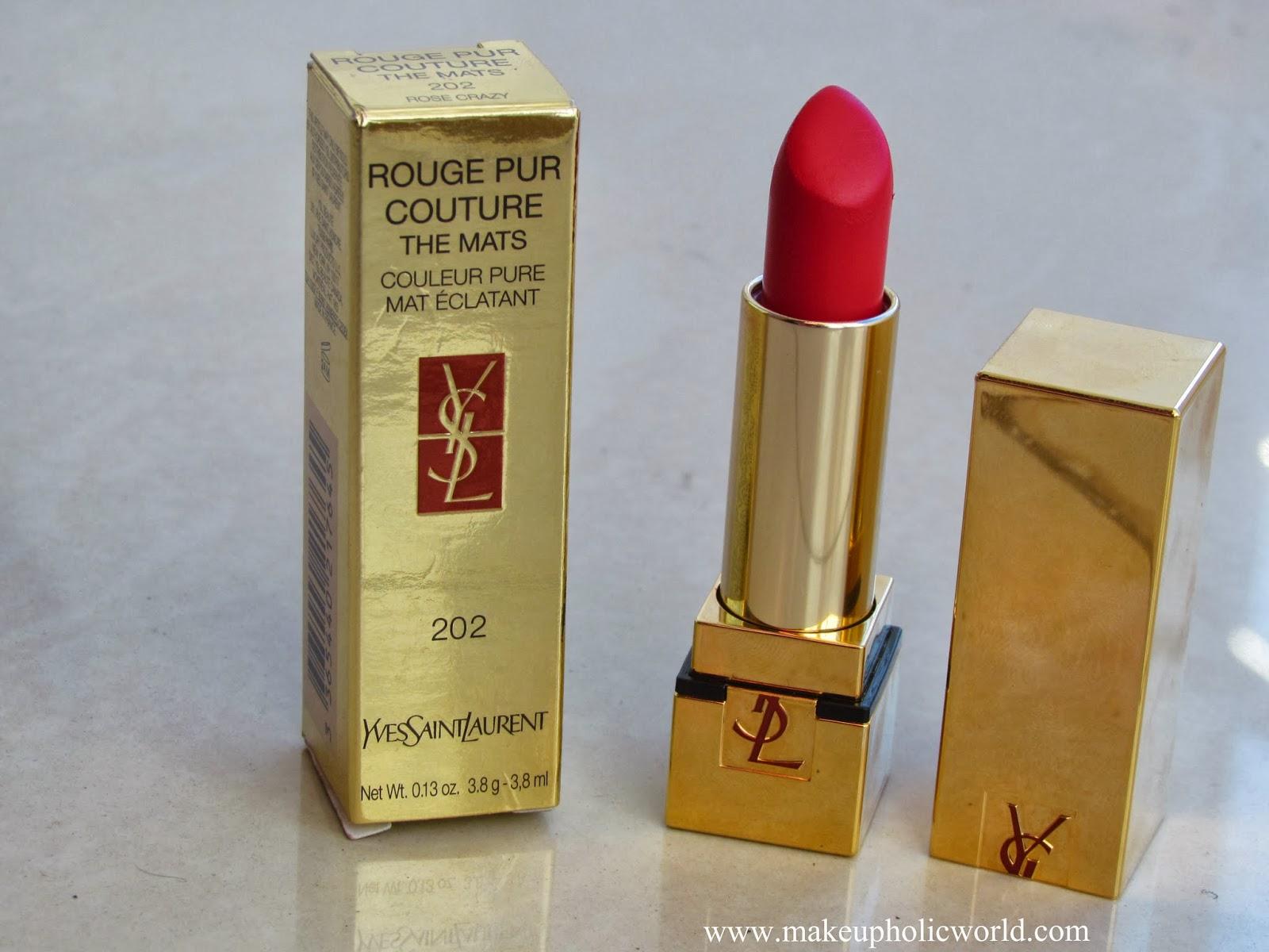Yves Saint Laurent Rouge Pur Couture The Mats Lipstick