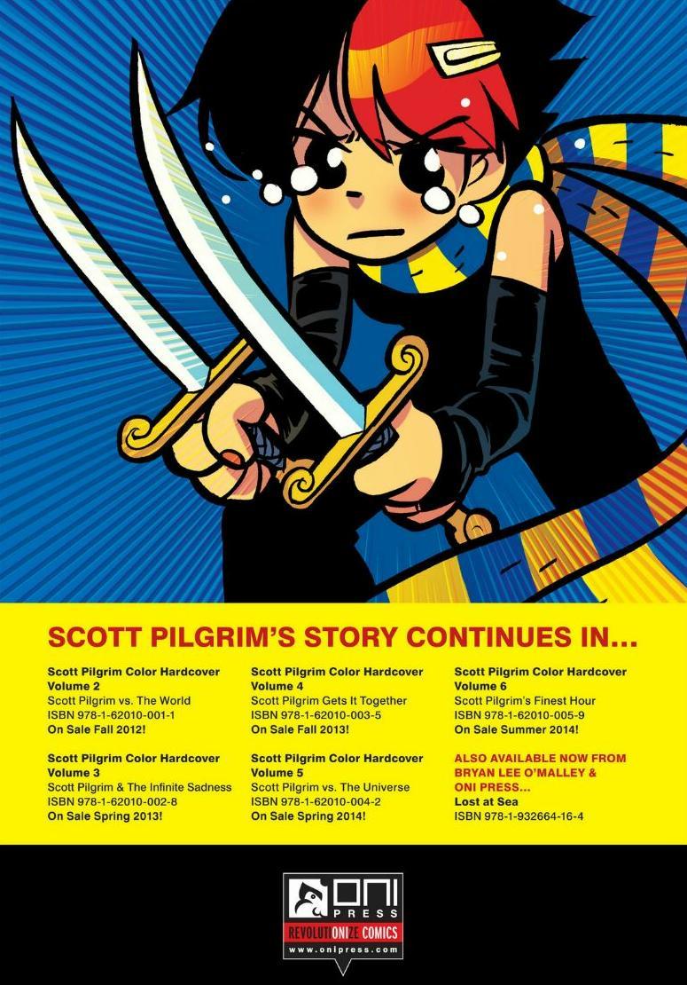 Read online Scott Pilgrim comic -  Issue #1 - 175