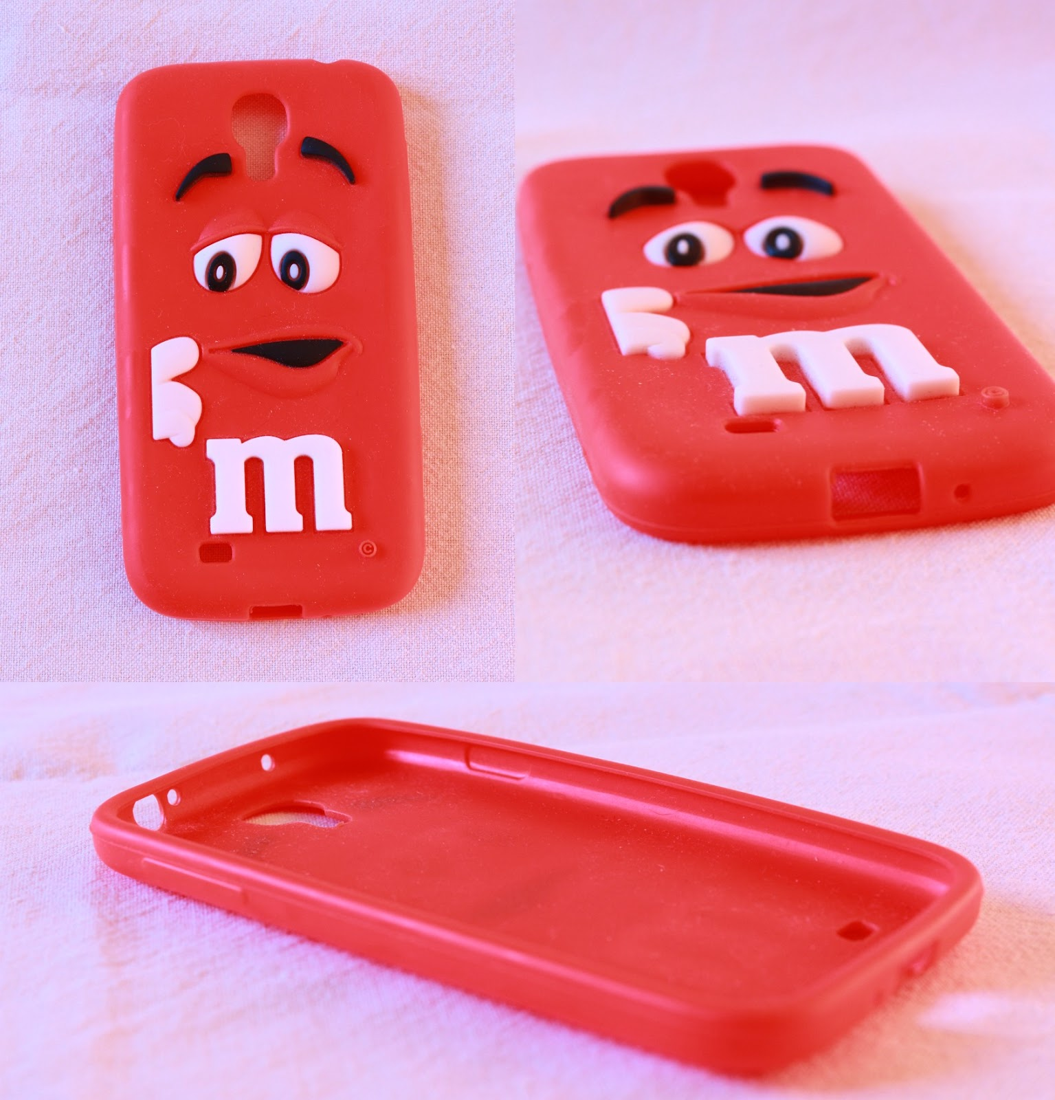 coque m&m's rouge samsung galxy s4