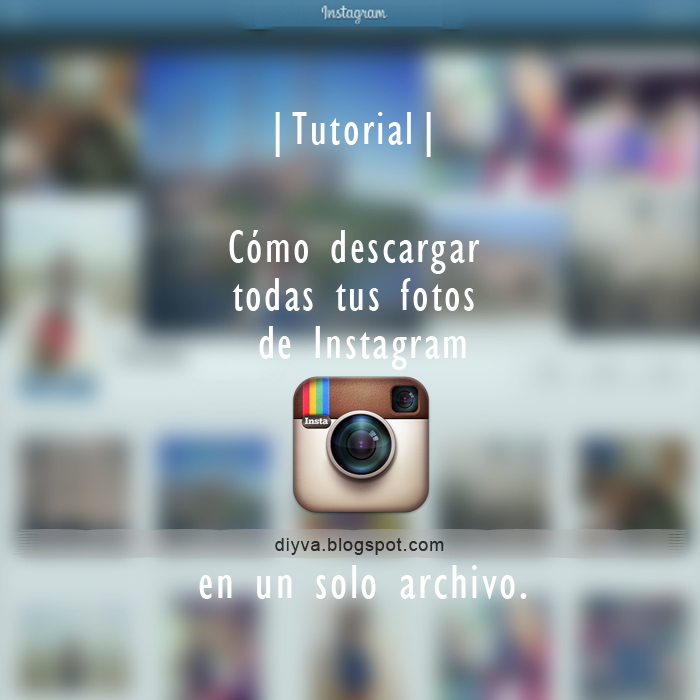 Tutorial descargar fotos Instagram