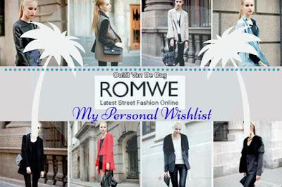 romwe my personal wishlist outfit van de dag