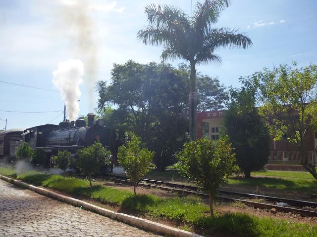 Locomotiva Maria Fumaça em Passa Quatro