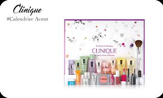 Calendrier Avent Beauté - clinique