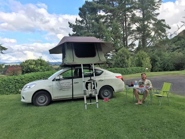 Campsites Tauranga Neuseeland