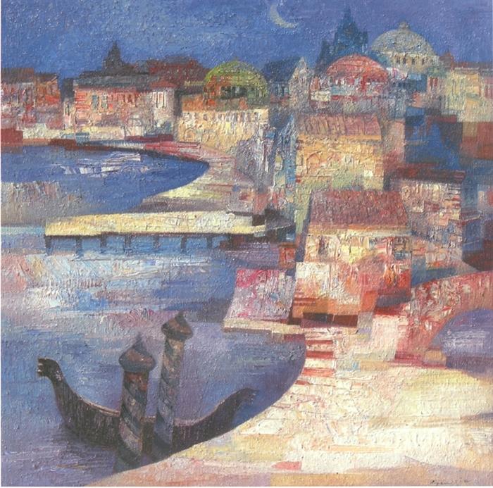 Gianni Gueggia 1956 | Italian Expressionist painter