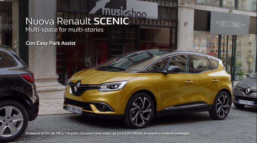 Canzone Renault pubblicità Scenic parcheggio 'ogni giorno e' una storia diversa' - Musica spot Novembre 2016