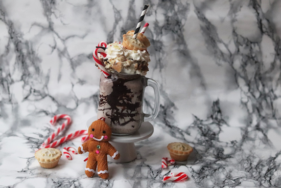 Festive Mince Pie Freak Shake Recipe