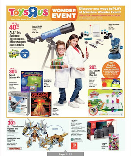 Toys R Us Flyer Out Door & Play valid August 18 - 24, 2017