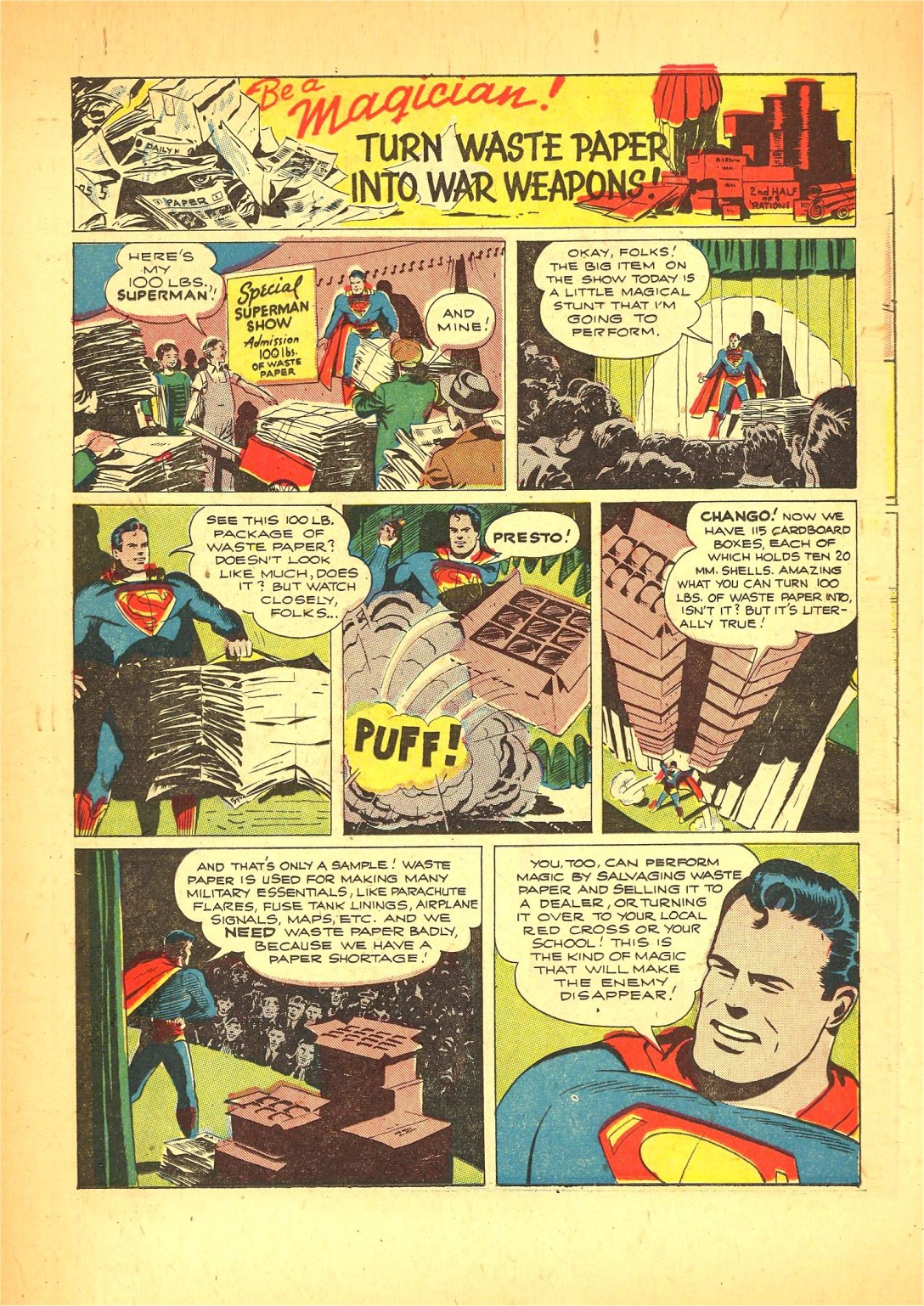 Read online Action Comics (1938) comic -  Issue #72 - 31