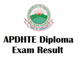 APDHTE Polytechnic Exam Result 2017