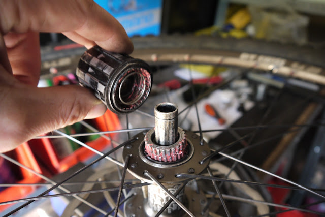 DT Swiss 240s Hub Service Repair