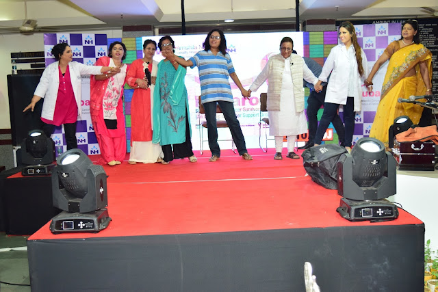"Dharamshila Narayana Super-speciality Hospital organizes ""Rubaroo"" – The annual women cancer survivors and patients Meet"