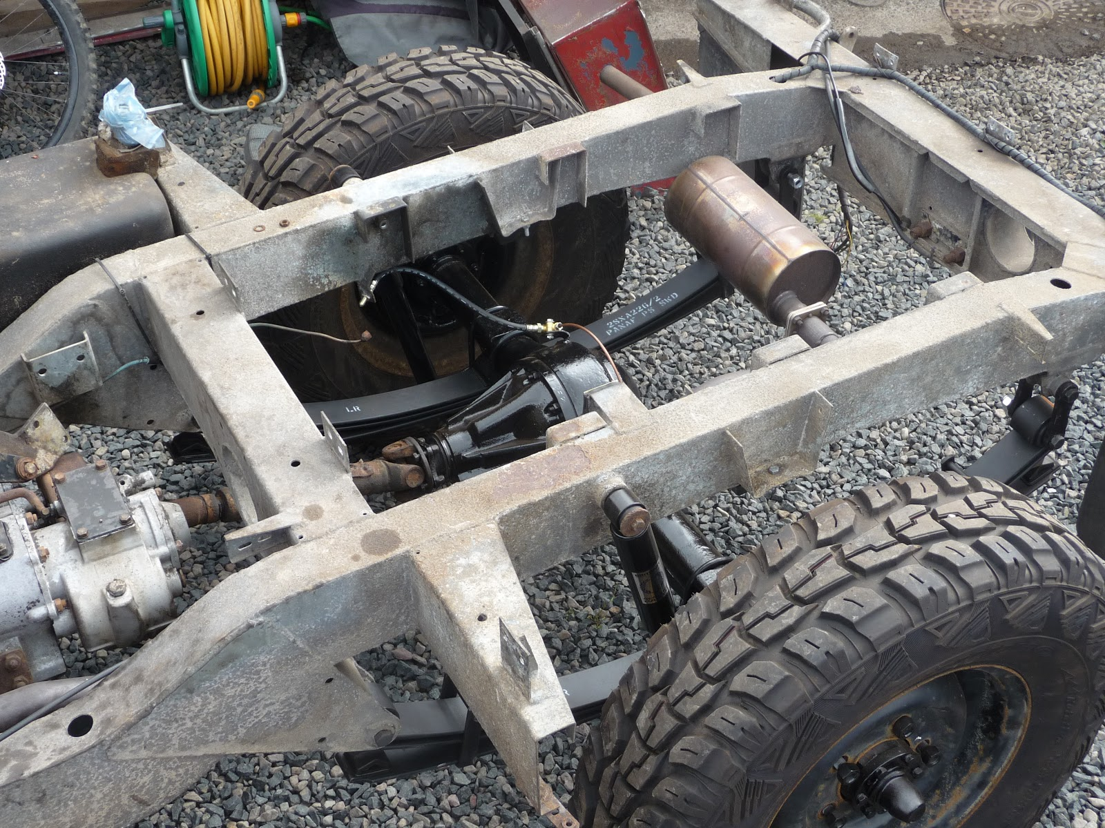landrover Series 3 Rolling Chassis