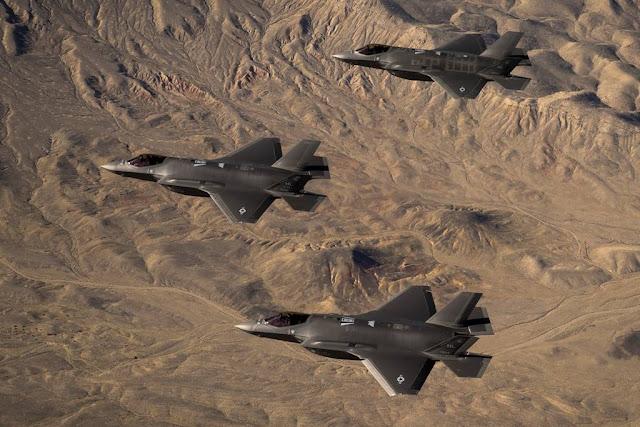 USAF 388FW F-35 combat exercise