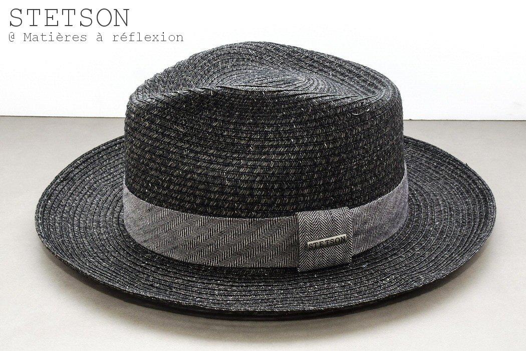 Stetson Chapeau Reedley Toyo gris