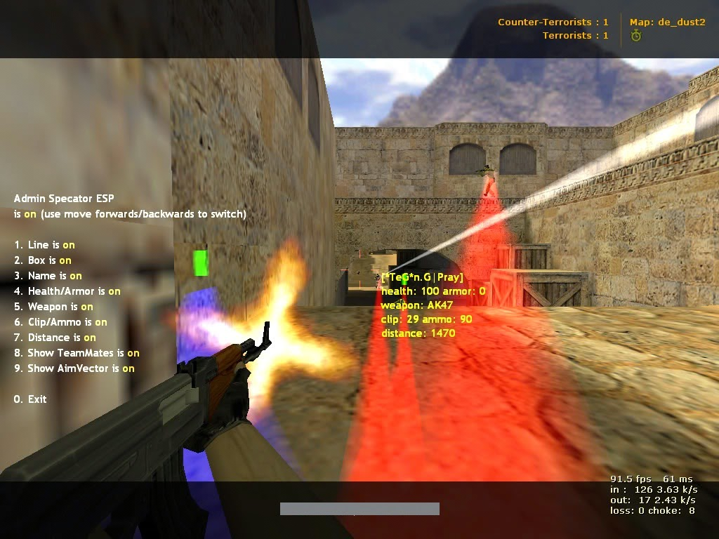 Counter-Strike Admin Spectator ESP v1.4 + v1.5 mini Plugin