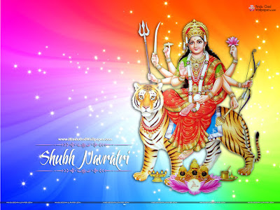 Navratri Wish Wallpaper