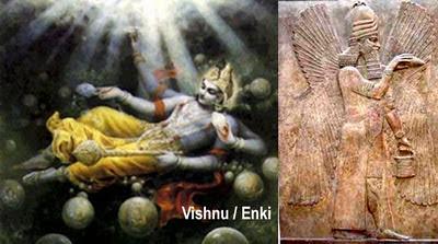 Vishnu Enki Intervenţia Zeilor Acum 455.000 De Ani - Ninharsag, Enlil Si Enki - Atlantida Si Lemuria