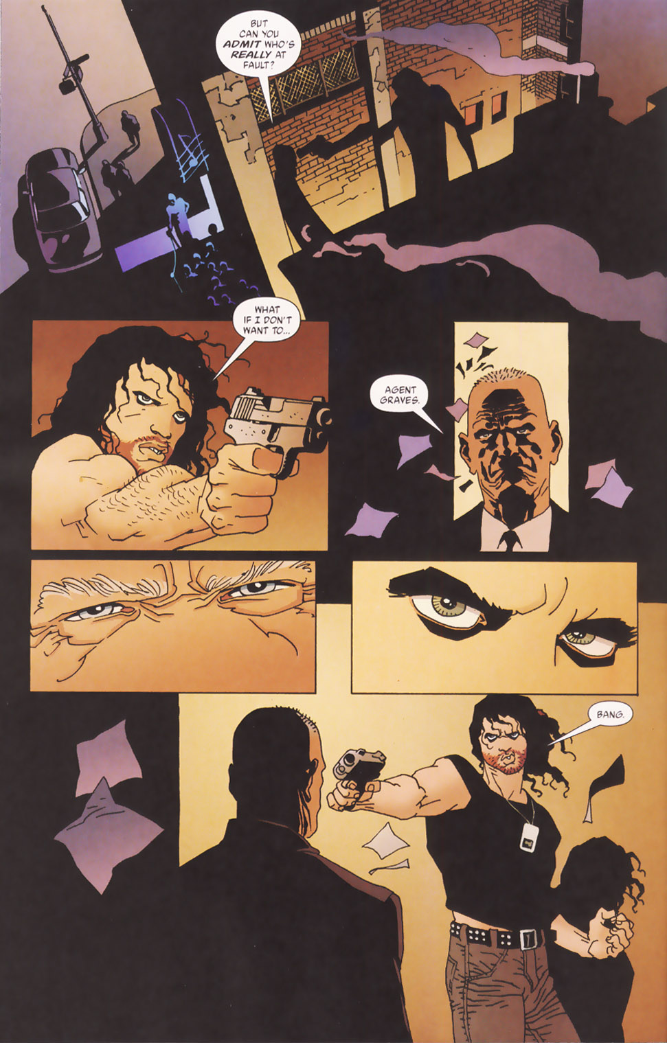 Read online 100 Bullets comic -  Issue #48 - 11