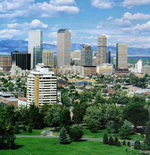 Denver Colorado wonderful view