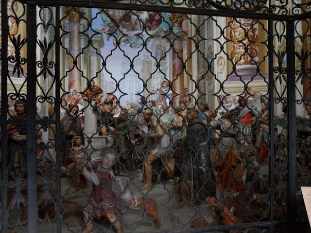 Dipinto Interno e Statue Cappella Orta