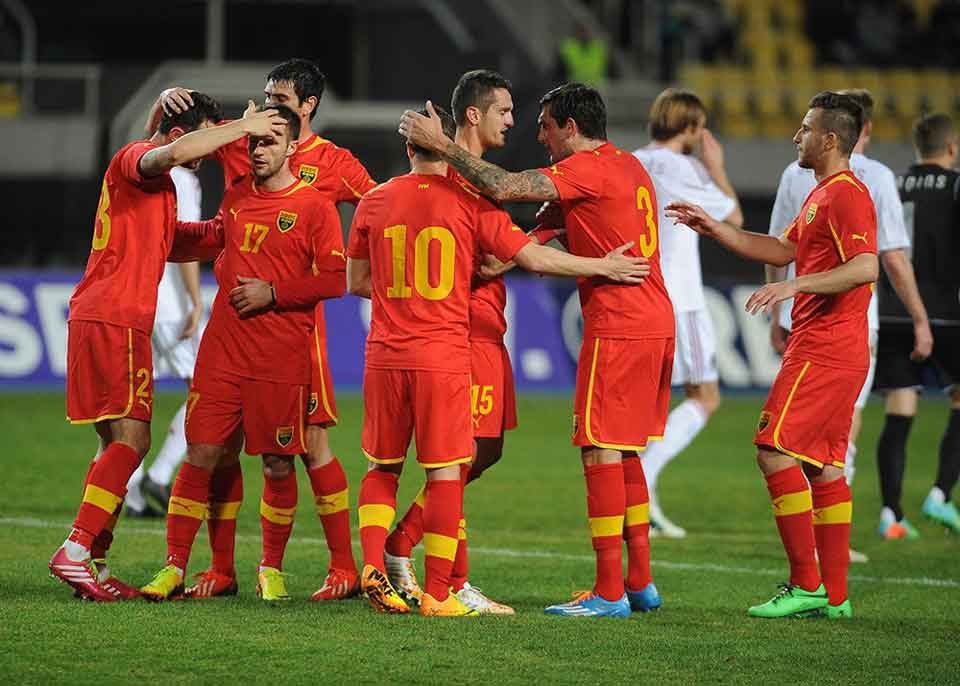 Macedonia with friendlies against Finland, Azerbaijan in March