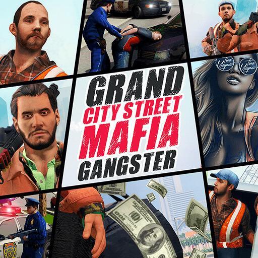 تحميل لعبة Grand City Street Mafia Gangster v1.0 مهكرة للاندرويد وكاملة أموال لا تنتهي