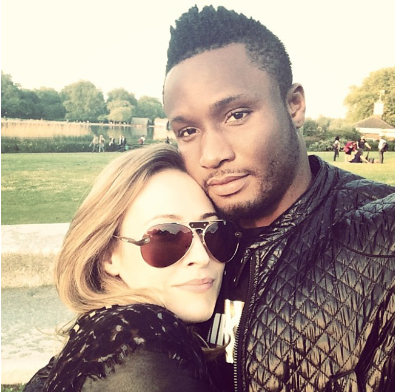 nigerian footballer mikel obi proposed to white girlfriend