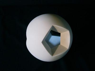 Kiwame Kubo Marble Stone Sculpture