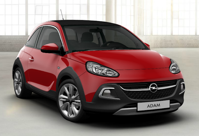 opel adam rouge red n roll
