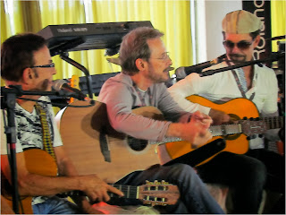 Carlos Colla, Paulo Massadas e Nando Cordel