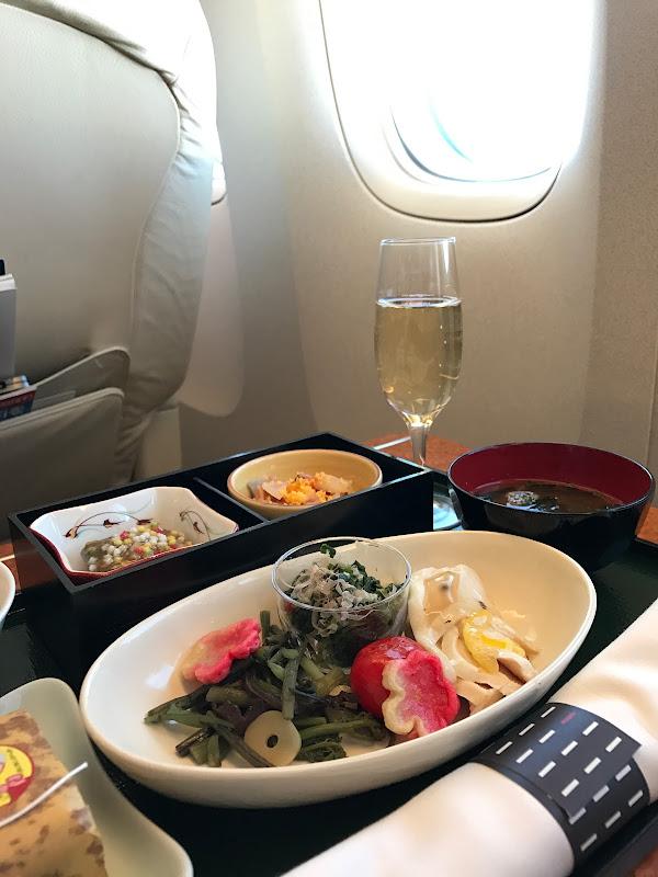 2017年の初・機内食 【飛行機旅】