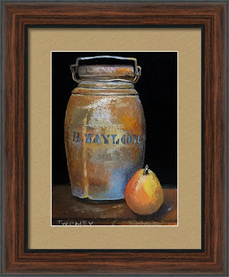 Taylor Jug With Pear by Twomey