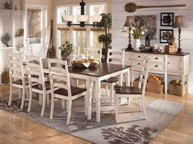 dining room rugs size under table