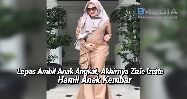Lepas Ambil Anak Angkat, Akhirnya Zizie Izette Hamil Anak Kembar