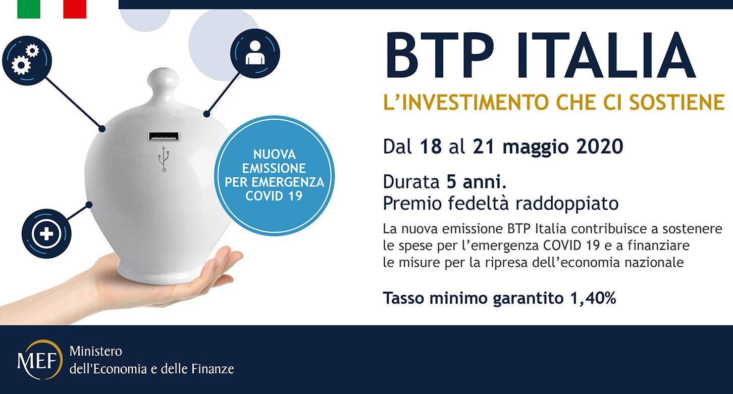 Btp Italia 2020