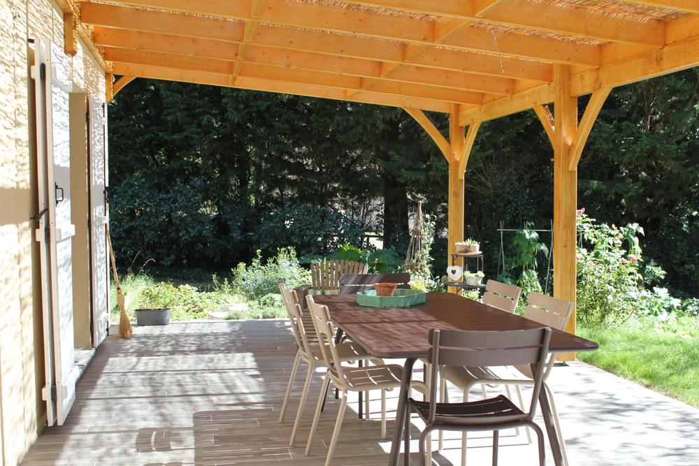 Avant apr s la terrasse edit du 22 10 2016 - Refaire une terrasse carrelee ...