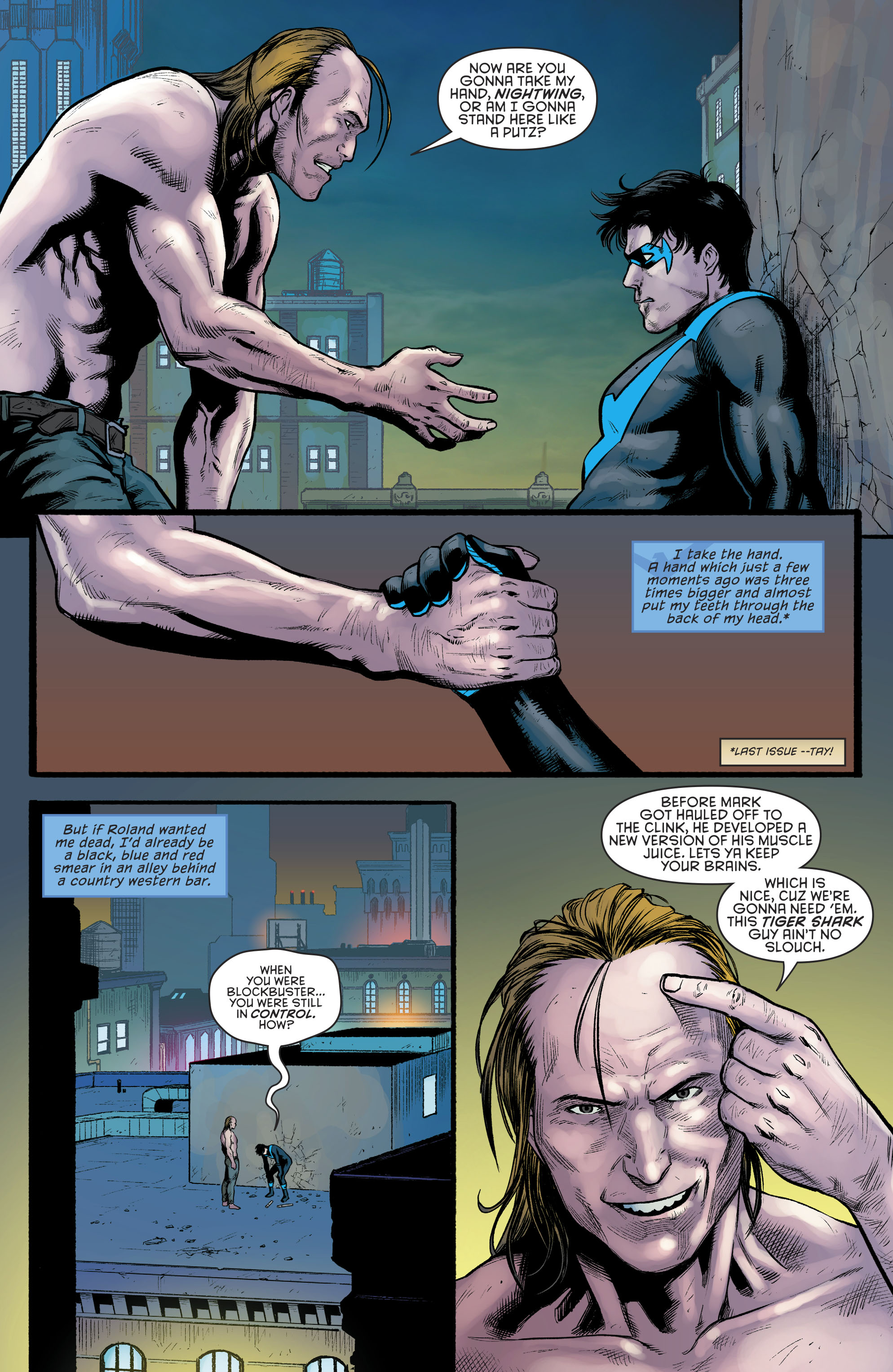 Read online Nightwing (2016) comic -  Issue #23 - 6