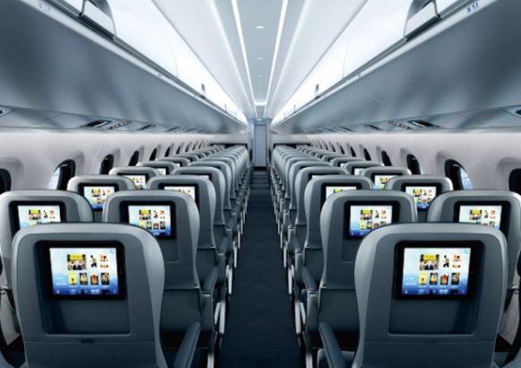 Embraer E175-E2 cabin interior
