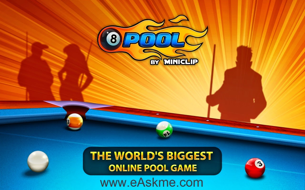 Play 8 Ball Pool free Online : eAskme