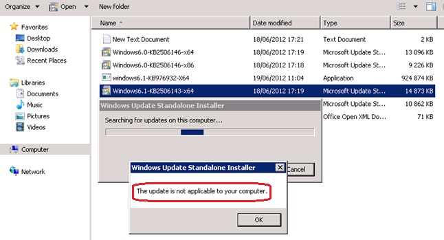 Happy SysAdm: Upgrading to Powershell 3 0 on Windows 2008 R2 SP1