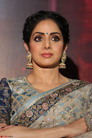 Sri Devi in designer saree stunning beauty at the launch of MOM movie Trailer~  Exclusive 082.JPG