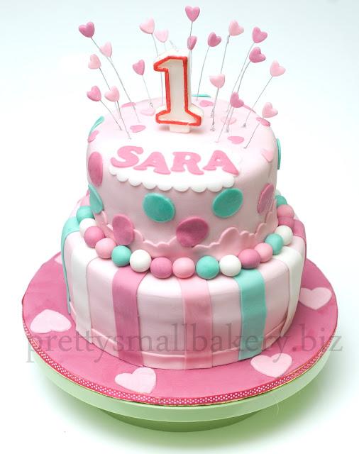 Kek Birthday Sara Country Height Kajang Prettysmallbakery